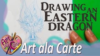 Artist Challenge: How to draw an Eastern Dragon