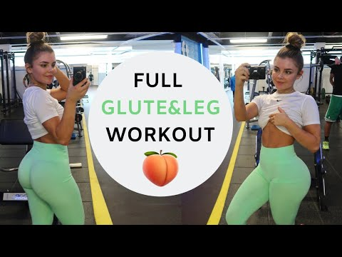 FULL LEG/GLUTE WORKOUT - no squats | vlog