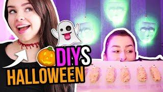 DIY HALLOWEEN PARTY IDEEN - Deko, Accessoires, Food & Drinks!! | unlikely