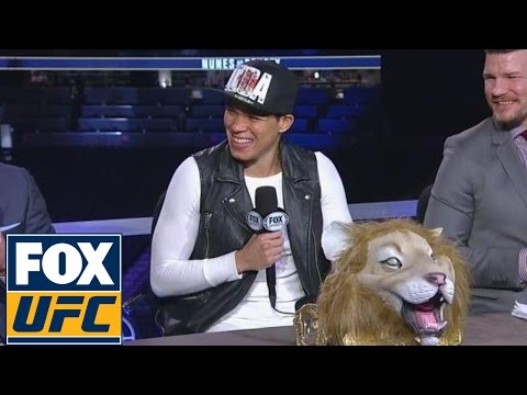 Amanda Nunes postfight interview after defeating Ronda Rousey | UFC 207