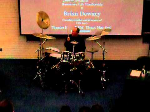 Thin Lizzy  Brian Downey Drum Solo