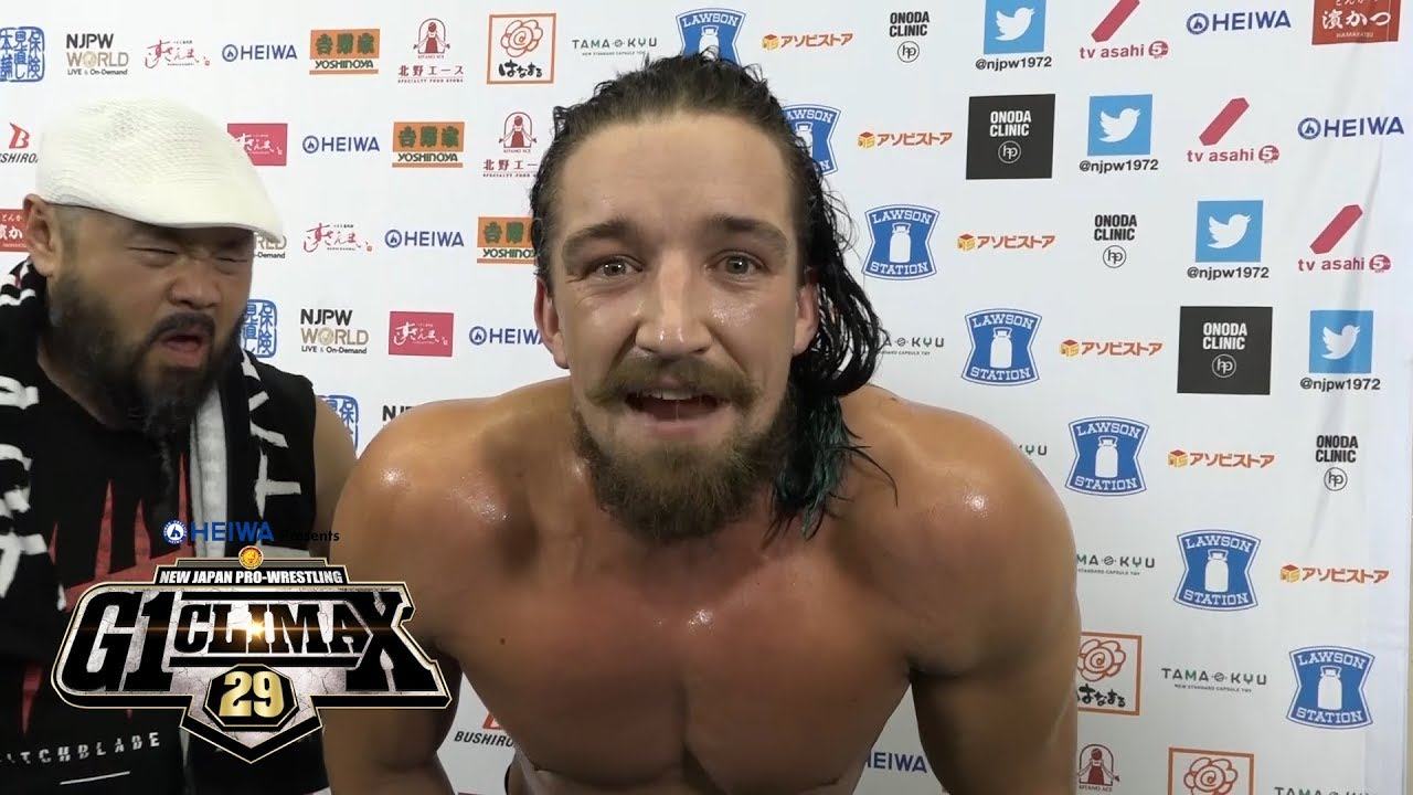 Unbeatable no more- Jay White has pinned Jon Moxley!