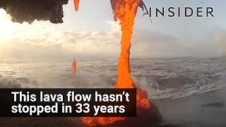 Unstoppable Lava Flow In Hawaii