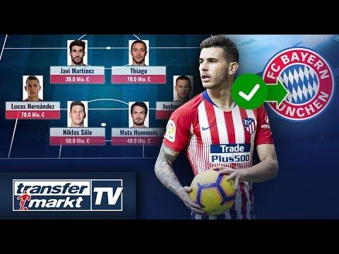 Hernández-Transfer zu Bayern perfekt – So könnte der FCB 2019/20 spielen | TRANSFERMARKT