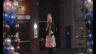 Chloe Thomas singing stay by cher lloyd at the Printworx X-Factor