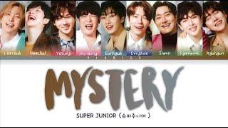 Download Super Junior (슈퍼주니어) 'MYSTERY' Lyrics (Color Coded Han/Rom/Eng/가사)