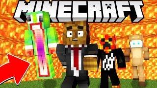 Minecraft IMPOSSIBLE LAVA RUN! w/ PrestonPlayz, UnspeakableGaming & MooseCraft
