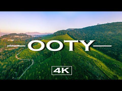 Ooty in (4K)  Drone shots