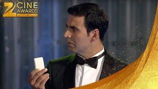 Zee Cine Awards 2011 Sajid Akshay Funny Chanki pandey