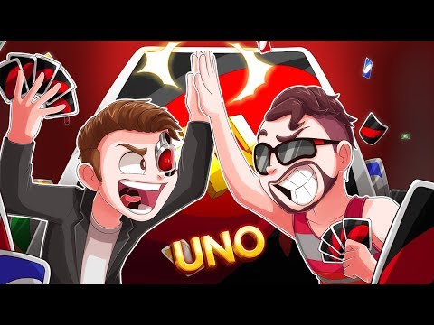 THIS IS A LESSON IN TEAMWORK (Terroriser & Moo vs Vanoss & Ohmwrecker Part 2) - Uno Funny Moments