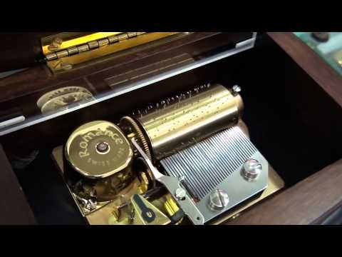 Romance Reuge 36 notes music box  All I ask of you