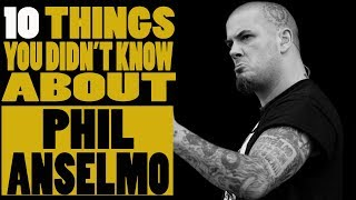 Things You Didn T Know About Pantera S Phil Anselmo