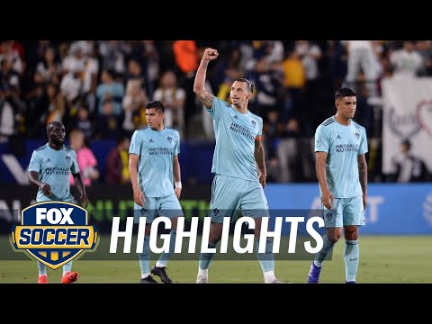 LA Galaxy vs. Houston Dynamo   2019 MLS Highlights