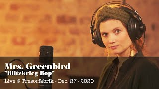"""Blitzkrieg Bop"" - live from the 10 Years Mrs. Greenbird Anniversary Concert - Dec. 27 2020"