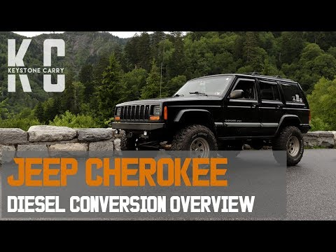 Jeep Cherokee Diesel Swap Overview Mercedes Om617 Conversion