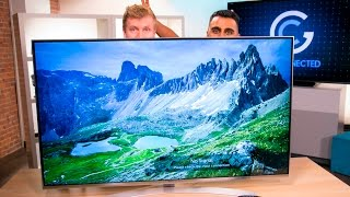 Amazing visuals and powerful Web OS on the LG UH8500 55