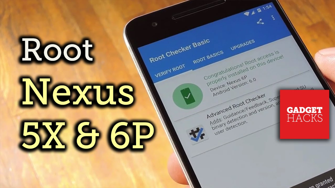 Foolproof Root for the Nexus 6P or Nexus 5X (PC/Mac/Linux) [How-To]