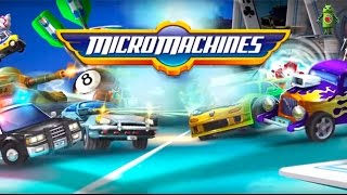 Micro Machines (iOS/Android) Gameplay HD