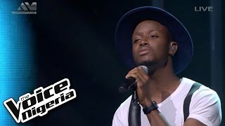 """Chike sings """"500 Miles"""" / Live Show / The Voice Nigeria 2016"""