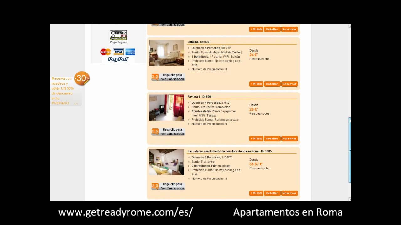 Apartamentos en Roma - Roma Apartamentos - Apartamento Roma - YouTube