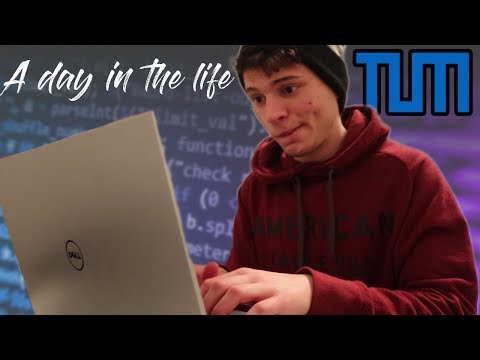 A Day In My Life At TUM (Technical University Of Munich)