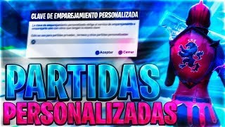*PRIVATE PARTIES / *FORTNITE SKIN TORNEO*