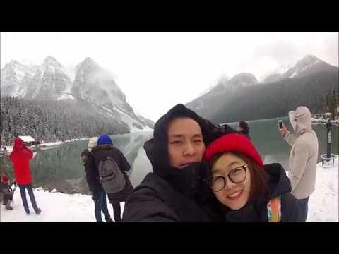 Banff & Lake Louise Trip Alberta Canada 2016 Winter