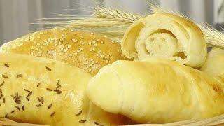 Вкусные слоистые рогалики видео рецепт