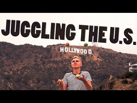 Juggling Around the US - SWEDISH EDITION