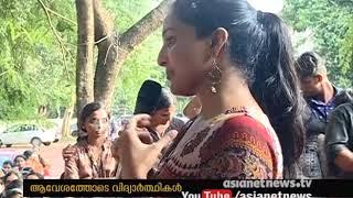 New Movie Udaharanam Sujatha promotion ; Manju Warrier in Kozhikode