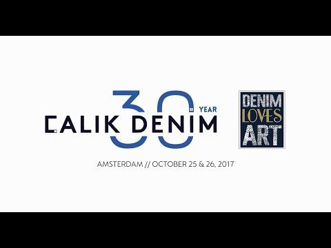 Calik Denim 30th Anniversary // Denim Loves Art Amsterdam Exhibition