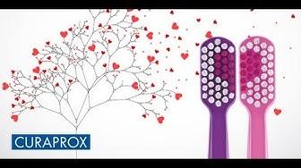 Bộ đôi bàn chải răng siêu mềm Curaprox Love - CS 5460