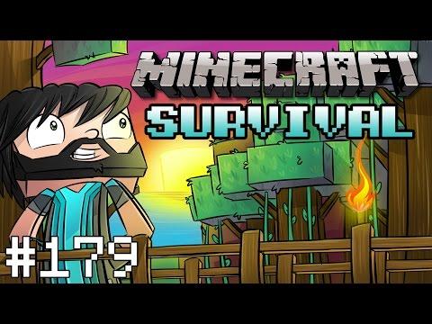 Minecraft : Survival - Noodle Sail - #179
