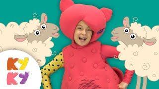 Считалка ОВЕЧКИ - Кукутики - Учим детей считать от 1 до 5 - песенка мультик про животных