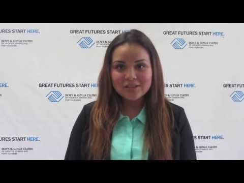 2013 Youth of the Year: Paloma Guzman Speech V1