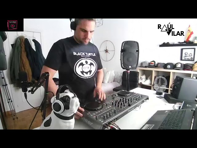 "RAUL VILAR live set. ""Mental Theory"""