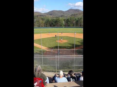 Tanner Revis Enka Baseball Dirtbags pitching 2014