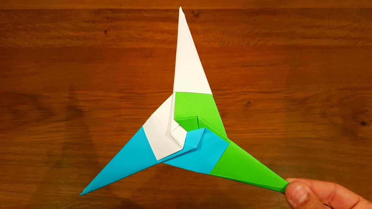 Origami Transforming Star and Frisbee : 8 Steps - Instructables | 720x1280