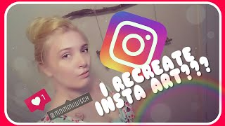 Recreating An Instagram Post | DIY | Craft & Chat #3