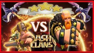la Guerra de David contra Goliat - Clash of Clans