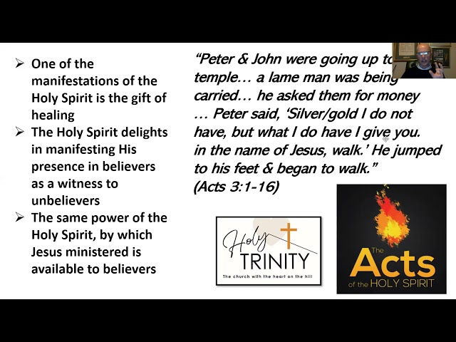 Pentecost Bible Study: The Acts of the Holy Spirit, Session 2