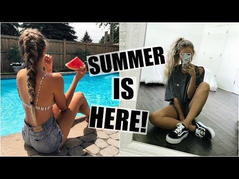 SUMMER IS HERE!! // Birthday Celebrations & Skin Treatment!