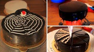 So Yummy Chocolate Cake Decorating Ideas For Birthday   How To Make Chocolate Cake   Cake   Petuk