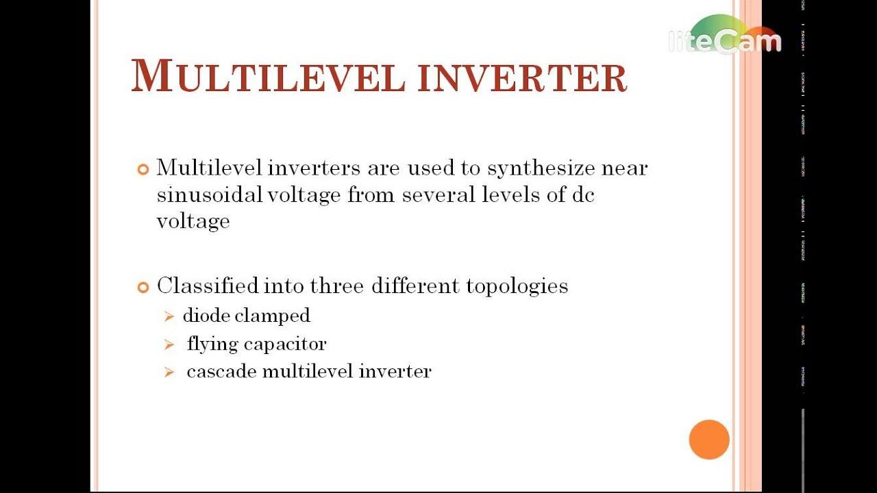 Harmonicysis Of Multilevel Inverter With Reduced