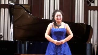 諸田広美 Hiromi MOROTA:「歌うな、美しい人よ!」Oh,never sing to me again