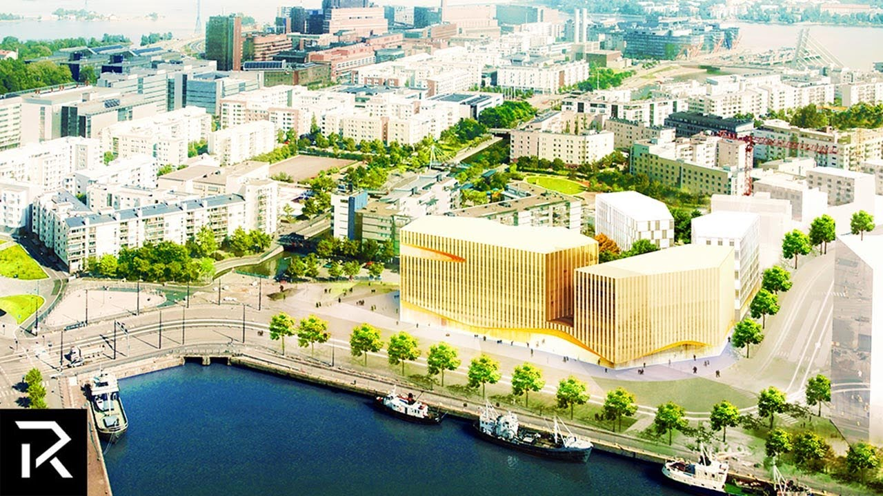 Inside Finland's $130 Million Wooden City