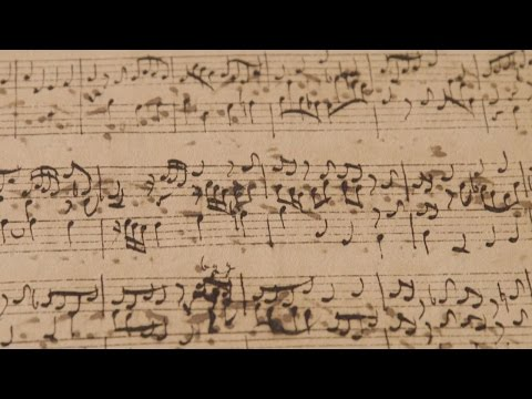 A Rare, Hand-Written Copy of J. S. Bach's Prelude in E Flat Major, BWV 998