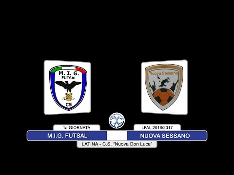 LFAL: Mig Futsal vs Nuova Sessano - highlights