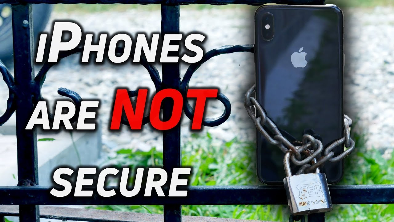 iPhones are NOT more secure than Android!