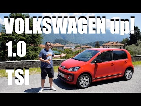 Volkswagen up! 1.0 TSI (ENG) - Test Drive and Review